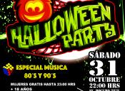 Halloween Party, Club Providencia