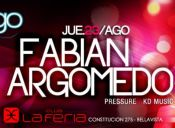 Fabian Argomedo @ Santiago Beats, Club La Feria - 23/08/2012