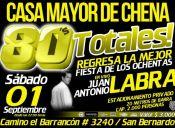 Fiesta 80´s Totales - 01/09/2012