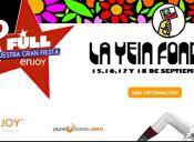 La Yein Fonda en Enjoy Santiago - 15, 16, 17 y 18 de Septiembre