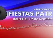 """Gran Fiesta Criolla"" en Sporting Club, Viña del Mar - 14 al 19 de Septiembre"