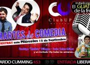 MIERCOLES DE COMEDIA EN CLUB UP