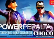 Power Peralta en vivo + Fiesta en Club Chocolate