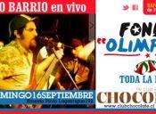 Fonda OLIMPICA: Santo Barrio en vivo