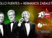 José Alfredo Fuentes y Los Hermanos Zabaleta en Enjoy Antofagasta