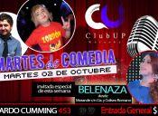 Martes de Comedia con el Zorrón y Belenza en Club Up