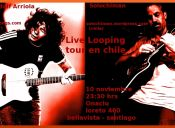 Live Looping en chile Randolf arriola & Solochiman, Bar Onaciu