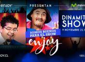 Dinamita Show en Enjoy Santiago