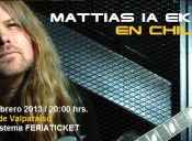 MATTIAS IA EKLUNDH en Chile, Teatro Municipal de Valparaíso