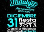 Año Nuevo 2013 en Castillo Hidalgo