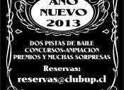 Año Nuevo 2013 en Club Up