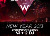 Fiesta de Año Nuevo en Hotel W (Le Mart)