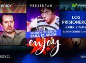 Los Prisioneros Narea y Tapia en Enjoy Santiago