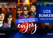 Los Bunkers en Enjoy Chiloé