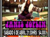 Kozmic Blues Tributo a Janis Joplin, La Piedra Feliz - Valparaíso