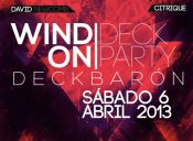 Wind on Deck Party, Muelle Barón - Valparaíso