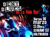 Viernes de blues con BENY BLUES, Valparaíso
