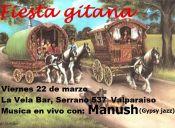 Fiesta Gitana con Manush Jazz, Valparaíso