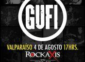 GUFI en Rockaxis Music Bar Valparaiso