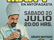 Dread Mar-I en Chile, Estadio Sokol Antofagasta