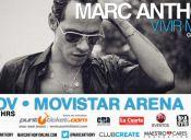 Marc Anthony en Chile, Movistar Arena