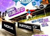 Burton Rail Contest 2013 en Mega Center
