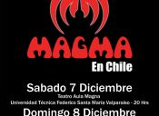 Magma en Chile, Teatro Caupolicán