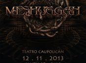Meshuggah en Chile, Teatro Caupolicán