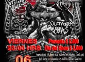 Kingdom of Hate, Them, Ghoulish, San Blas Church y Stultifera Navis en Elebar, Valparaíso
