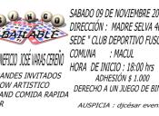 Bingo Bailable Benéfico en Club Deportivo Fusco