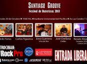 Santiago Groove, Festival De Baterías 2013 en Auditorio de la Universidad del Pacífico