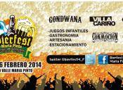 Fiesta Bierfest 2014 en Vivero Valle María Pinto