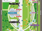 ¡Amigos les presentamos el nuevo mapa de la edición 2014 del Lollapalooza!