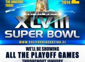 Disfruta del Super Bowl en California Cantina