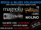 Rock & Blues Solidario en Club Mister X Rock
