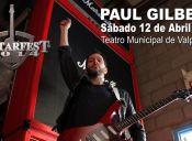 Paul Gilbert en Chile, Teatro Municipal de Valparaíso
