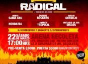 Salvaje Decibel Lanzamiento Oficial Disco Radical en Arena Recoleta