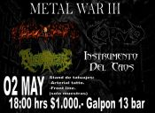 Metal War III en Galpon 13 Bar