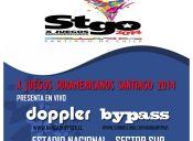 Doppler y Bypass en Juegos Sudamericanos, Estadio Nacional