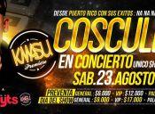 Cosculluela en Chile, Kmasu Premiere