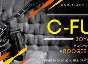 C-Funk y Joya en vivo, Bar Constitución