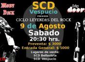 Ciclo Leyendas del Rock: Tributos a Led Zeppelin y The Doors, Sala SCD Vespucio
