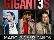 GIGANT3S: Marc Anthony - Juan Luis Guerra - Carlos Vives, Estadio Nacional
