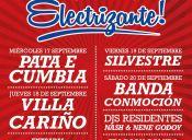 Fonda Electrizante, Centro Cultural Amanda - 17 al 20 de Septiembre