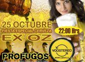 LiveBeerfest Fiesta de la Cerveza con Profugos tributo a Soda Stereo y Gustavo Cerati
