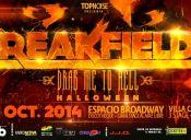 Fiesta Breakfields Halloween 2014, Espacio Broadway