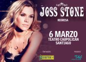 "Joss Stone llega a Chile con su ""Total World Tour"", Teatro Caupolicán"