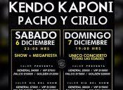 Concierto Kendo Kaponi y Pacho Cirilo en Chile