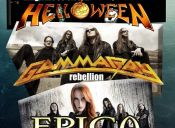 Tocata de Tributos a Helloween + Gamma Ray + Epica, Bar Rebelion