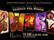 Awake Tributo The Doors se presenta en Valparaíso